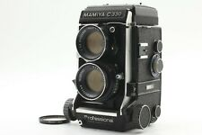 【Exc+++++】 Mamiya C330 Pro TLR Camera w/ Sekor DS 105mm F3.5 Blue Dot From JAPAN