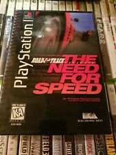 Road & Track Presents: The Need for Speed (Sony PlayStation 1, 1996) Ps1Long Box