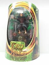 Lord of the Rings Action Figure Toybiz Sword Attack Frodo w/ ONE RING Ringwraith