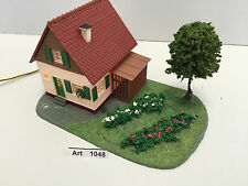 Wiad,Vaupe o.Faller H0 Einfamilienhaus mit Beleuchtung,Garten,1:87,selten & RAR