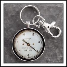 Vintage Veglia Borletti  Tachometer Photo Keychain 🎁🏎