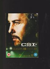CSI CRIME SCENE INVESTIGATION SEASON 08 PART 01 EPISODE 1-8 DVD 2008
