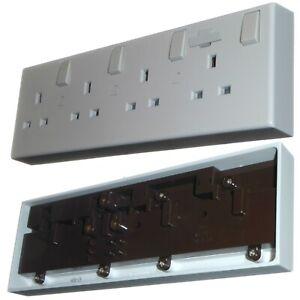 4 Gang Socket Converter - Change Existing 1 Gang and 2 Gang Sockets to 4 Sockets