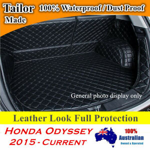 Customized 3D Full coverage Waterproof Boot liner mats for Honda Odyssey 15 - 21