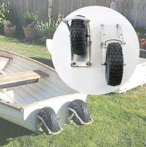 Rugged Heavy Duty Dinghy Launching Wheels for Boats Yacht and Marine watercrafts