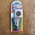 """Brush Buddies """"Thomas  Friends"""" Toothbrush Set w/ Toothbrush cap, Rinsing Cup"""