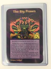 Illuminati New World Order INWO Assassins Rare Cards The Big Prawn CCG