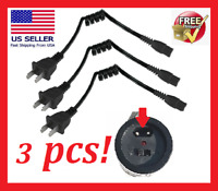 Stun Gun Charger, 3 pack of Charging Cords, WORKS WITH ALL BRANDS!!