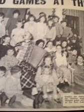65-5 Ephemera 1966 Picture New Year Smoky The Clown Fort Lodge Hotel