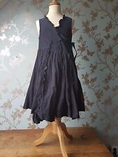 Jottum dress navy rib size 140 - 10 good condition