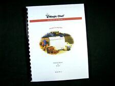 Magic Chef Model 250-2 Bread Maker Machine Instruction Manual & Recipes