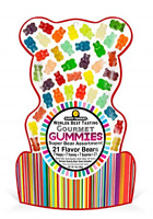 Happy Yummies Worlds Best Tasting Gourmet Gummy Candy 21 Flavor Super Bear 14oz
