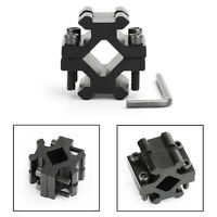Barrel Clamp on to Picatinny Weaver Rail Mount Adapter for Rifle Bipod FA