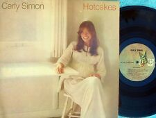 Carly Simon ORIG US LP Hotcakes EX '74 Elektra 7E1002 Pop Rock James Taylor