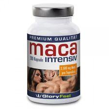 Maca Kapseln Peru 200 Stück Macawurzel Pulver Premium Produkt GloryFeel