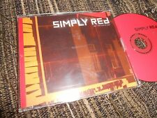 SIMPLY RED AIN'T THAT A LOT OF LOVE (EDIT) CD SINGLE 1999 PROMO GERMANY