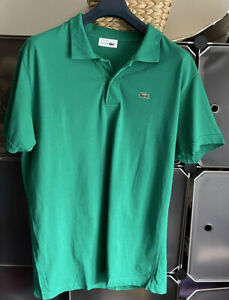 Mens Lacoste Polo Shirt Top XL New