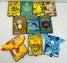 LOT OF 10 Pokemon Movie 2000 Burger King 3D Power Cards (No Stands)