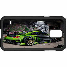 Racing Green Car Hard Case Cover For Samsung New