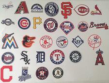 "Baseball FATHEAD Team Logo Collection 30 MLB TEAMS (All 2""-3"") Yankees Mets Cubs"