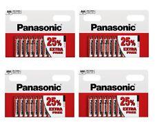 "40 AAA Panasonic ""Special"" Zinc Carbon (R03 S) 4 packs of 10 Batteries - BULK"