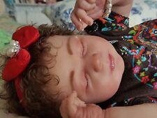 Reborn baby girl, Realborn Kimberley