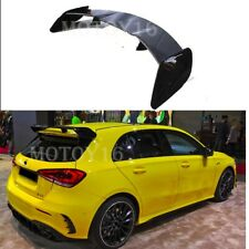 For Mercedes W177 A180 A200 A250 A35 ED1 Rear Trunk Glossy Painted Spoiler 18+