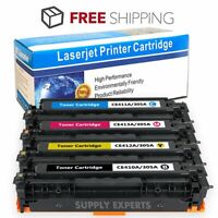 4PKs Color CE410A Toner Fits HP 305A LaserJet Pro 400 M451dn M475dn M475 Printer