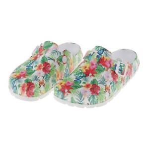 Women's Garden Beach Pool Slip On Mules Clogs Sandals Non Slip Shoes Slippers