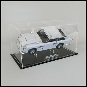 Acrylic Display Case with Internal Stand for LEGO Aston Martin DB5 10262