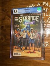 Strange Academy Ramos 1:25 Variant CGC 9.6 NM/MT 1st Appearance of Emily Bright!