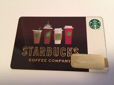 "Canada Series Starbucks ""DRINK LINE-UP 2016"" Holiday Gift Card - New No Value"