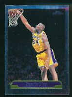 1999-00 Topps Chrome Shaquille O'Neal #23 Los Angeles Lakers SP Rare Set Vintage