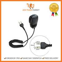 NEW Shoulder Handheld Speaker Microphone Security 2Pin Mic Speaker WalkieTalkie