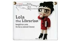 Kamibashi Lola the Librarian The Original String Doll Gang Keychain Clip
