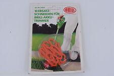 Original Schneiden für Brill Akku Trimmer BRILL 5084 1 Packung Inhalt 10 Stück