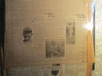 Baseball Ty Cobb Newspaper THE GEORIA PEACH +  MATTY PITCHER + FOOTBALL RULES