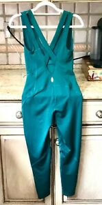 Free People Movement Jumpsuit One Piece Catsuit Cool Running Stretch Teal XS NEW