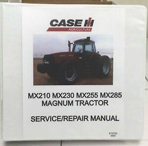 MX210-MX230-MX255-MX285 Magnum Tractor Service/Repair Manual