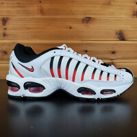Nike Air Max Tailwind 4 Men's Shoes AQ2567-104 White Black Habanero Red