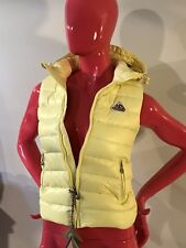 Pyrenex Down Vest Hood Yellow Lemon 🍋 Heritage Collection Girls Size: 10A NWT
