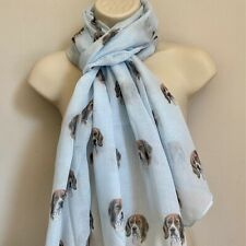 More details for beagle dog print ladies scarf new design shawl lovely gift