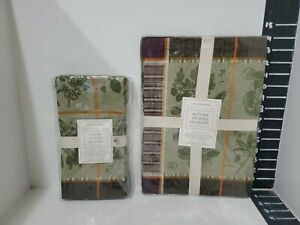 Williams sonoma napkin and place mats 4 new
