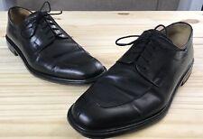 Mezlan Men's Dress Shoes Size 9.5M Split Toe Black Leather