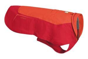 """Ruffwear Vert Waterproof Windproof Dog Jacket Sockeye Red Size Small 22-27"""""""