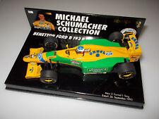 Michael Schumacher Collection Formule 1 nº 9 Benetton b193b deuxième victoire de 1992 1:43
