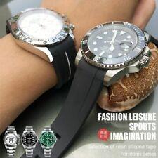 For Submariner Daytona DEEPSEA Oysterflex Rolex Watch Band GMT Omega Seamaster