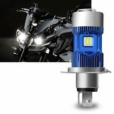 Ampoule H4 Led Moto Kit Phare Hi / Lo Faisceau Xenon Blanc 6000K 4000Lm Super L