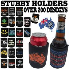 STUBBY HOLDER - Beer Tin Bottle Can Cooler Funny Present Birthday stubbie Gift