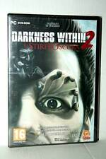 DARKNESS WITHIN 2 LA STIRPE OSCURA GIOCO NUOVO PC DVD VER ITALIANA AL1 41840